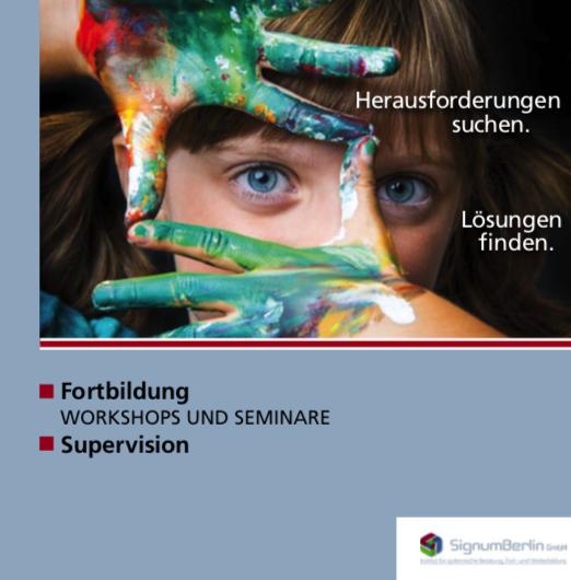 Flyer Fortbildung SignumBerlin